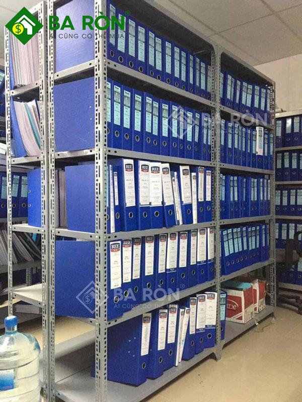 Kệ sắt để hồ sơ văn phòng 5