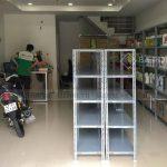 Thanh lý 100 kệ sắt v lỗ Biên Hòa tồn kho giá rẻ